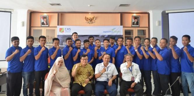 Warga Kulon Progo mendapat pelatihan kedirgantaraan oleh Angkasa Pura 1 di Yogyakarta, Senin, 21 januari 2019. Foto: Humas AP 1.