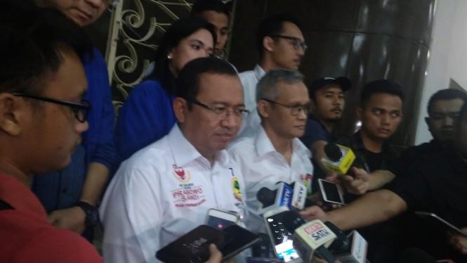 Direktur Program Tim Kampanye Nasional (TKN) Jokowi-Ma'ruf Amin, Aria Bima. (Medcom.id/Candra Y)