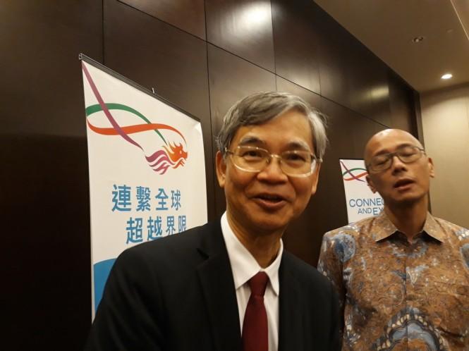 Sekretaris Tenaga Kerja dan Kesejahteraan Hong Kong Law Chi Kong. (Foto: Marcheilla/Medcom)