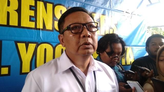 Direktur Reserse Kriminal Umum Polda DIY Komisaris Besar Hadi Utomo - Medcom.id/Ahmad Mustaqim