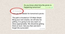 Tekan Hoaks, Pesan Terusan WhatsApp Maksimal Lima Kali