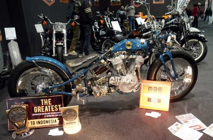Nebeng di MBE, Suryanation Buka Custom Bike Contest di Italia