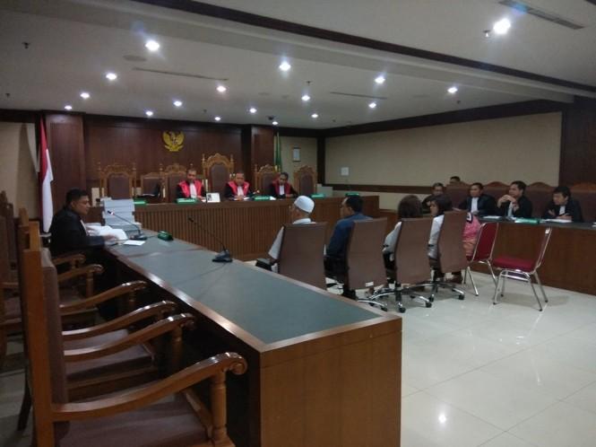 Sidang tuntutan lima anggota DPRD Sumatera Utara. - Foto: Medcom.id/Fachri Audhia Hafiez