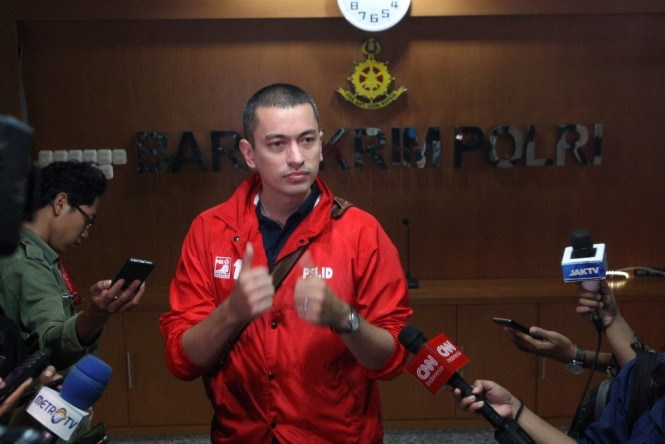 Juru Bicara Bidang Hukum Partai Solidaritas Indonesia (PSI) Rian Ernest. (MI/Ramdani)