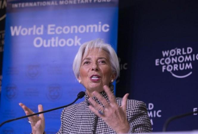 Direktur Pelaksana IMF Christine Lagarde (Xinhua/Xu Jinquan)