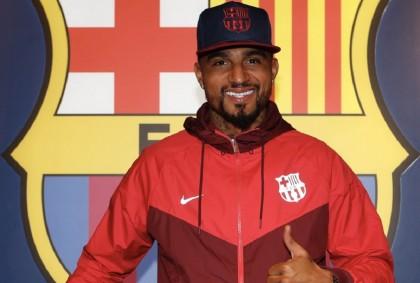 Resmi: Barcelona Dapatkan Kevin-Prince Boateng