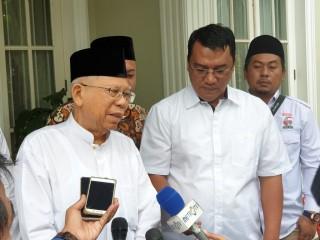 Ma'ruf: Jokowi Cinta Ulama