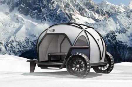 BMW Pamer Konsep Trailer Camping di CES