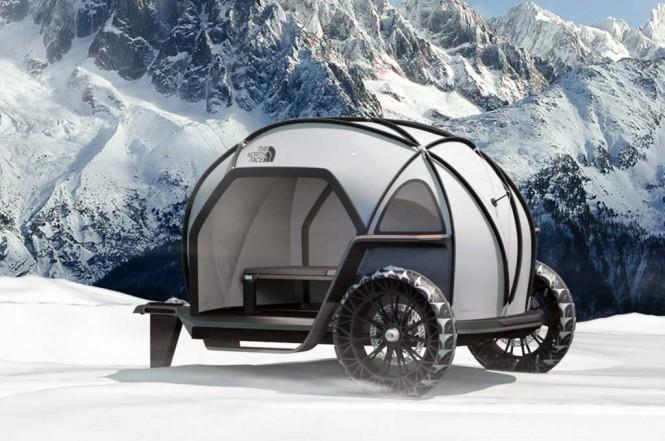 Camper concept. Deezen