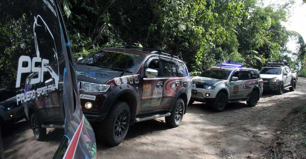 PSF saat melakukan touring di Sulawesi. PSF