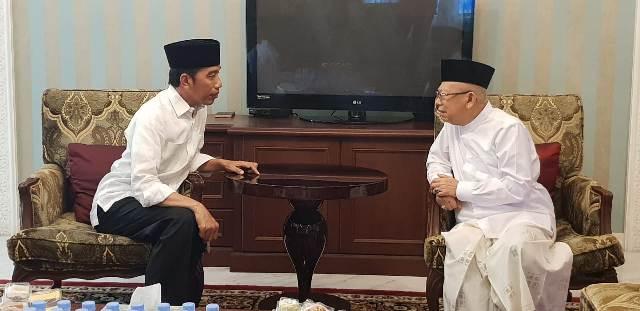 Jokowi-Ma'ruf/Medcom.id/Achmad Zulfikar Fazli