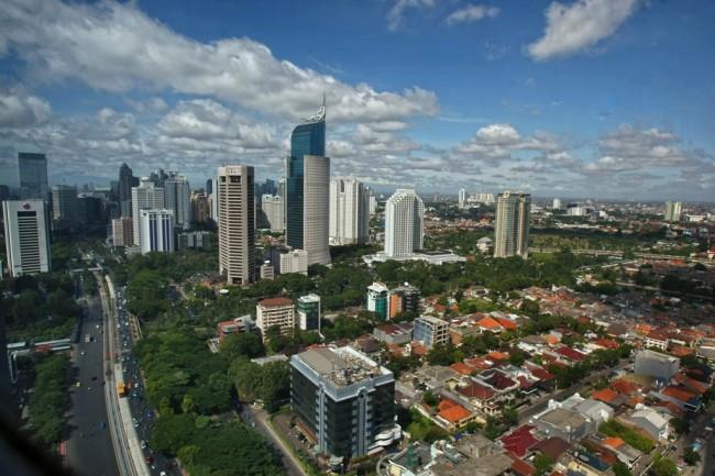 Jakarta skyline (Photo: MI/Sumaryanto)
