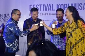 Jonan Buka Festival Kopi Nusantara Media Indonesia