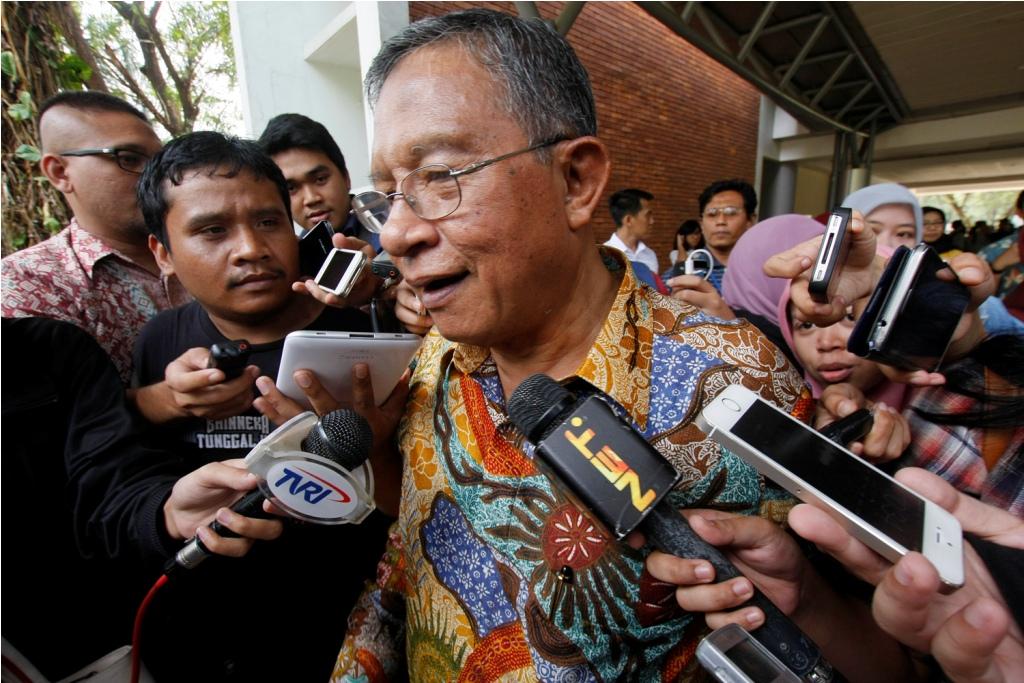 Coordinating Minister for Economic Affairs Darmin Nasution (Photo:MI/Bary Fathahilah)