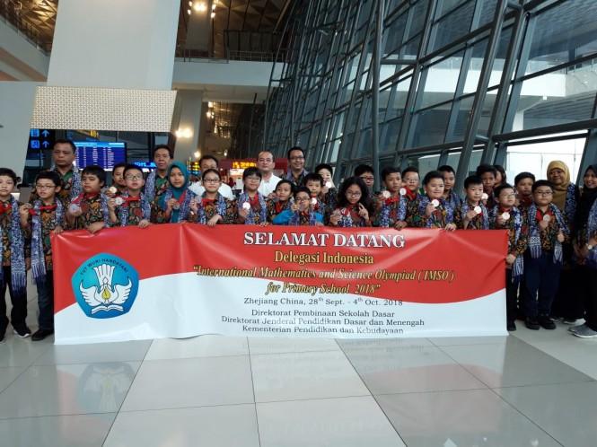 Siswa pemenang Olimpiade Matematika Internasional, Medcom.id/Intan Yunelia.