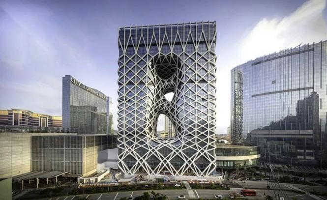 Hotel Morpheus ini merupakan bagian dari proyek resort mewah City of Dreams di Macau. designboom/Ivan Dupont