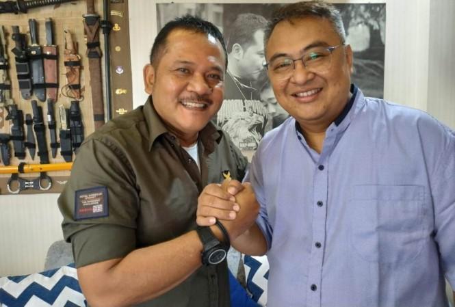 CEO baru Arema FC, Ir. R. Agoes Soerjanto (kiri) (Istimewa)