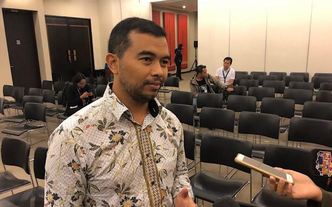 Koordinator Indonesia Corruption Watch (ICW) Adnan Topan Husodo - Medcom.id/Theofilus Ifan Sucipto.