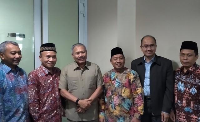 Fraksi PKS DKI mengenalkan tiga kandidat cawagub ke Fraksi Demokrat-PAN--Medcom.id/Nur Azizah