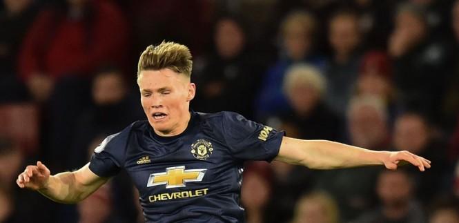 Gelandang Manchester United, Scott McTominay (AFP/Glyn Kirk)