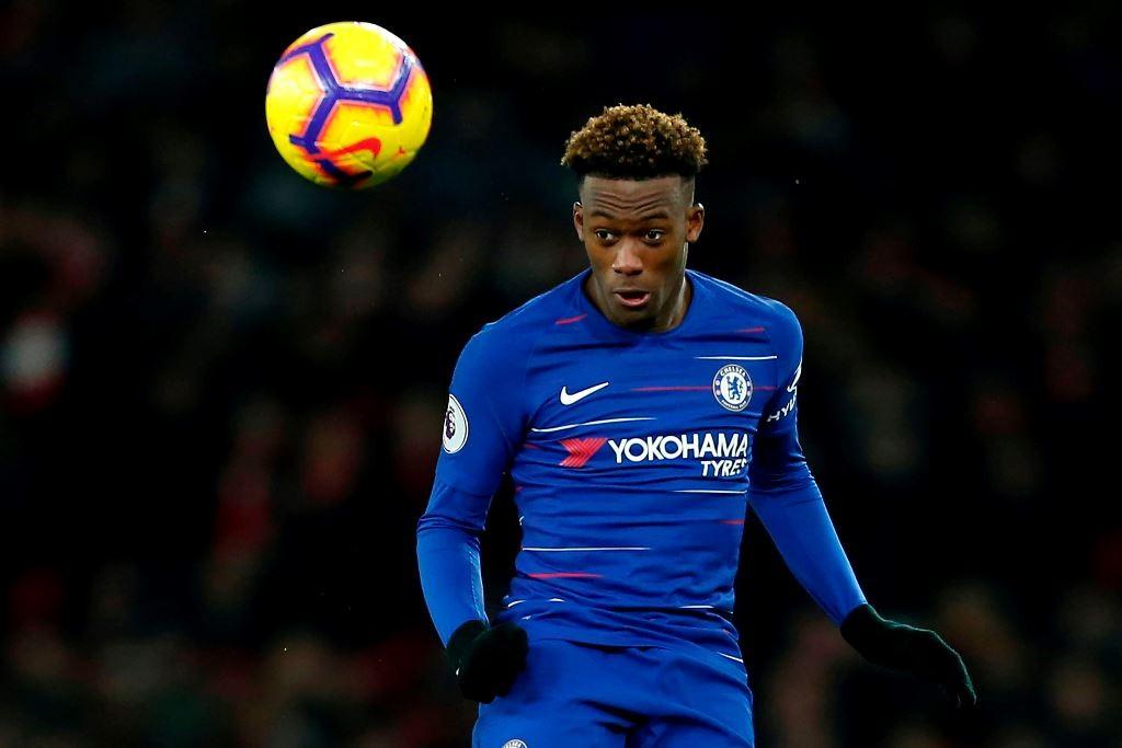 Pemain muda Chelsea, Callum Hudson-Odoi (AFP/Ian Kington)