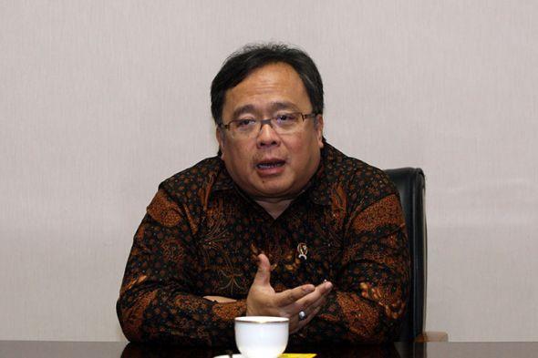 Menteri Perencanaan Pembangunan Nasional/Bappenas Bambang Brodjonegoro. MI/Adam Dwi.