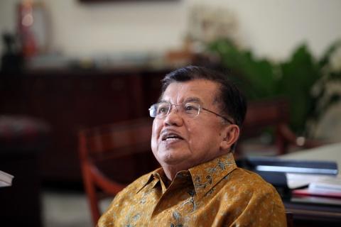 Wapres Jusuf Kalla. Foto: MI/Panca Syurkani.