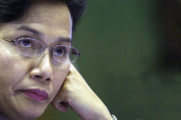 Finance Minister Sri Mulyani Indrawati (Photo:MI/Susanto)