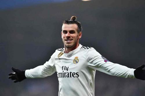 Pemain Real Madrid, Gareth Bale (AFP/Joe Klamar)