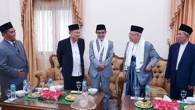 Ma'ruf Amin is the non-active chairman of the Indonesian Ulama Council (MUI). (Photo: Jokowi-Ma'ruf campaign team)