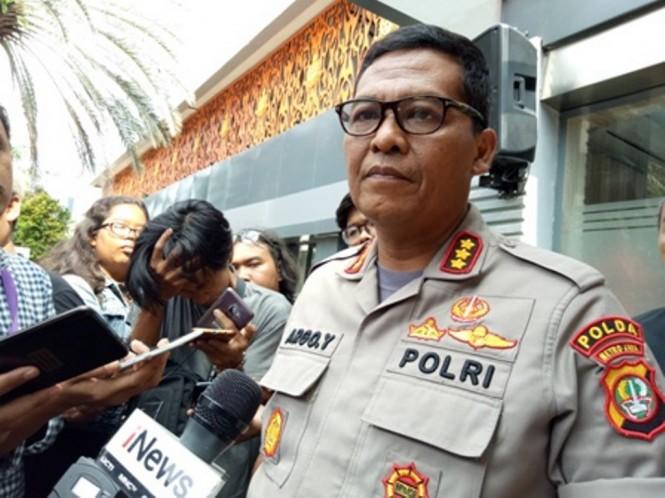 Ketua Tim Media Satgas Antimafia Bola Kombes Argo Yuwono. Medcom.id/ Siti Yona H