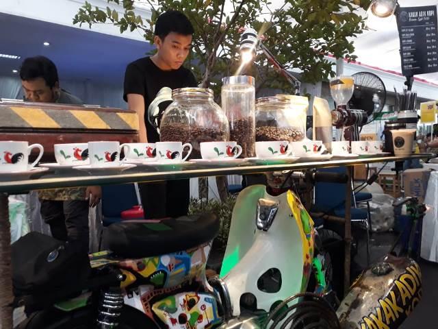 Festival Kopi Nusantara kedua kalinya ini diadakan dalam rangka HUT ke-49 Media Indonesia. (Foto: Dok. Medcom.id/Yatin Suleha)