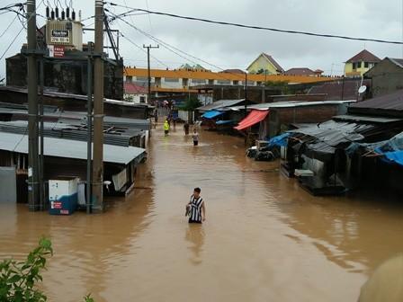 Enam Orang Meninggal Akibat Banjir di Gowa