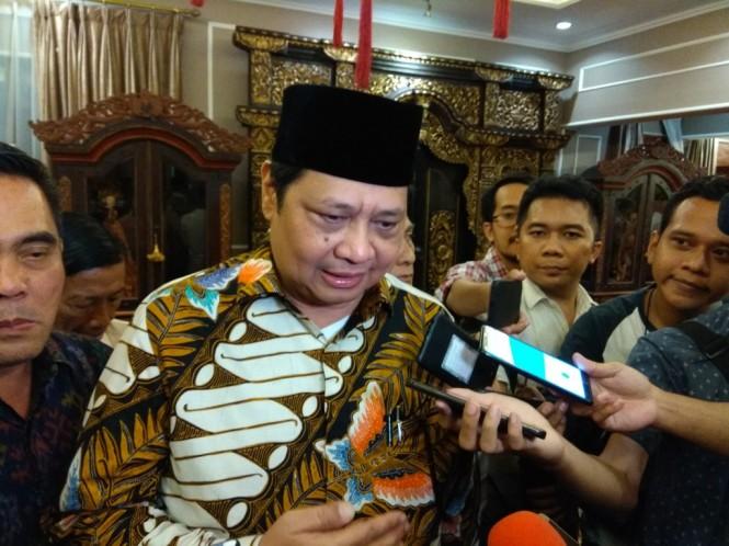 Menteri Perindustrian Airlangga Hartarto (Foto: Medcom.id/Desi Angriani)