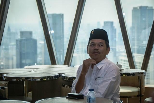 Ketua Tim Pemenangan Jokowi-Amin Jawa Barat, Dedi Mulyadi. Foto: Antara/Aprilio Akbar