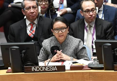 Tiga Poin Penting Indonesia untuk Palestina di DK PBB
