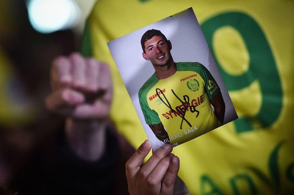 Foto Emiliano Sala (Foto AFP/LOIC VENANCE)