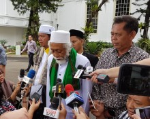 Jokowi Receives Clerics from Banten