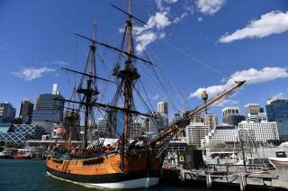 Replika Kapal HMS Endeavour Akan Berlayar di Australia