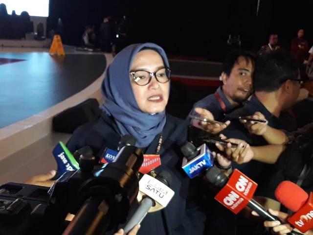 Komisioner KPU, Evi Novida Ginting Manik--Medcom.id/Faisal Abdalla,.