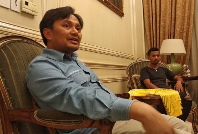 CEO Barito Putera, Hasnuryadi Sulaiman (Medcom/Rendy Renuki H)