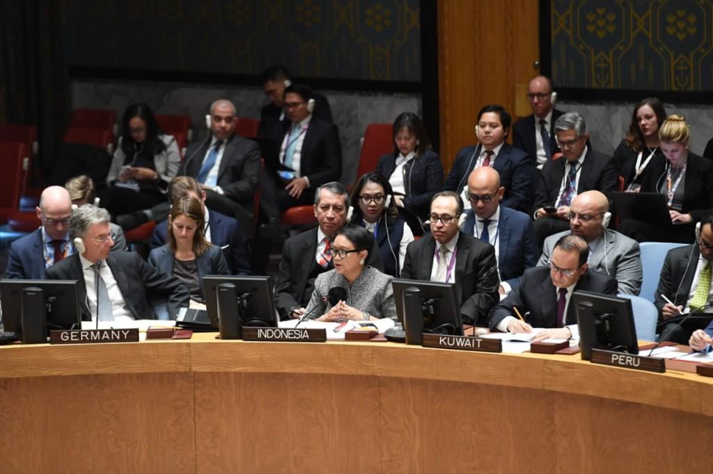 Foreign Affairs Minister Retno Marsudi (Photo:MoFA)