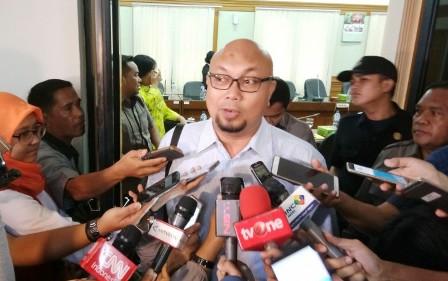 Komisioner KPU Ilham Saputra. Foto: Medcom.id/Achmad Zulfikar Fazli.