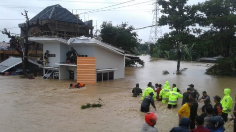 Selain Hujan, Banjir di Gowa Juga Karena Bendungan