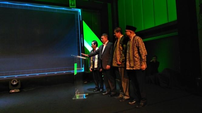 Menag, Lukman Hakim Saifuddin saat meluncurkan SPAN-UM PTKIN 2019 di Jakarta, Medcom.id/Muhammad Syahrul Ramadhan.