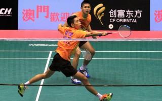 Singkirkan Wakil Rusia, Wahyu/Ade Tantang Marcus/Kevin di 16 Besar Indonesia Masters