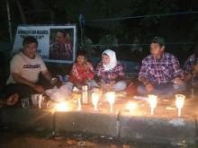 Pendukung Ahok Doa Bersama di Mako Brimob