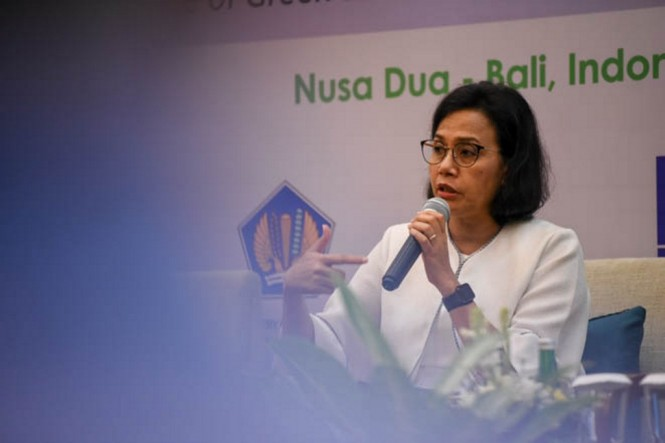 Menteri Keuangan Sri Mulyani Indrawati (Foto: am2018bali)