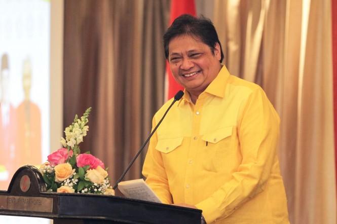 Menteri Perindustrian Airlangga Hartarto (MI/PIUS ERLANGGA)