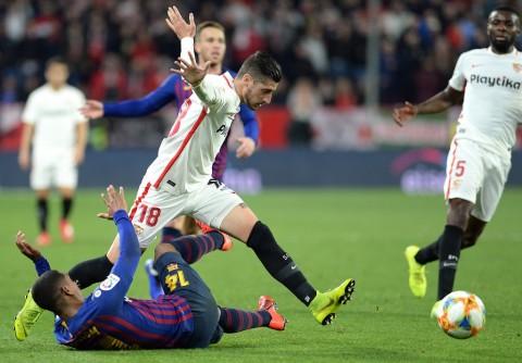 Barcelona Takluk di Kandang Sevilla